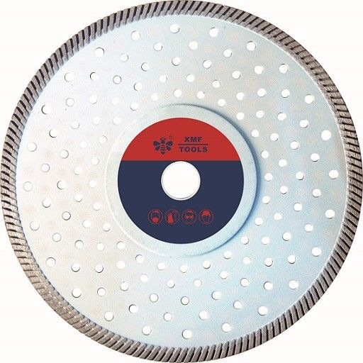 8 Inch Turbo Diamond Saw Blade ,  Segmental Circular Saw Blades  To Cut Concrete