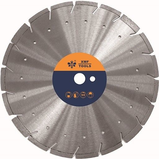 Super G 12  / 14 Inches  Segmented Diamond Saw Blade    Cooling Holes Available