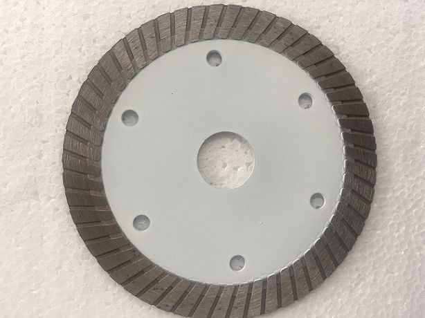 White Hot Pressed Mid Turbo Diamond Saw Blade Granite Cutting Marble 4 5 Inches Size